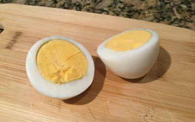 Oven Baked Hardboiled Eggs